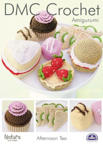 DMC Amigurumi Afternoon Tea Natura Crochet Pattern